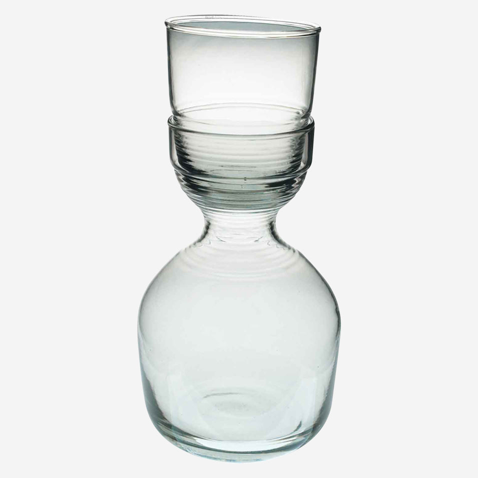 Ripple Carafe and Glass Set Short