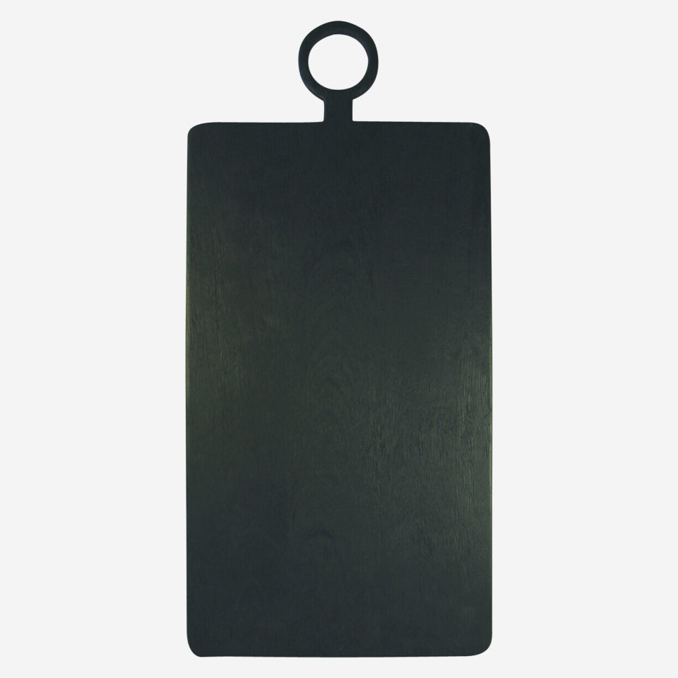 Black Wood Rectangular Extra Large Board