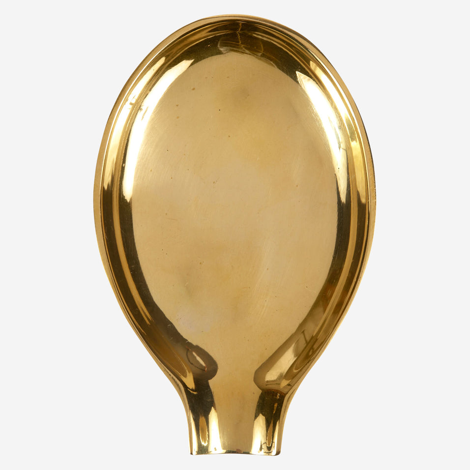 Brass Spoon Rest
