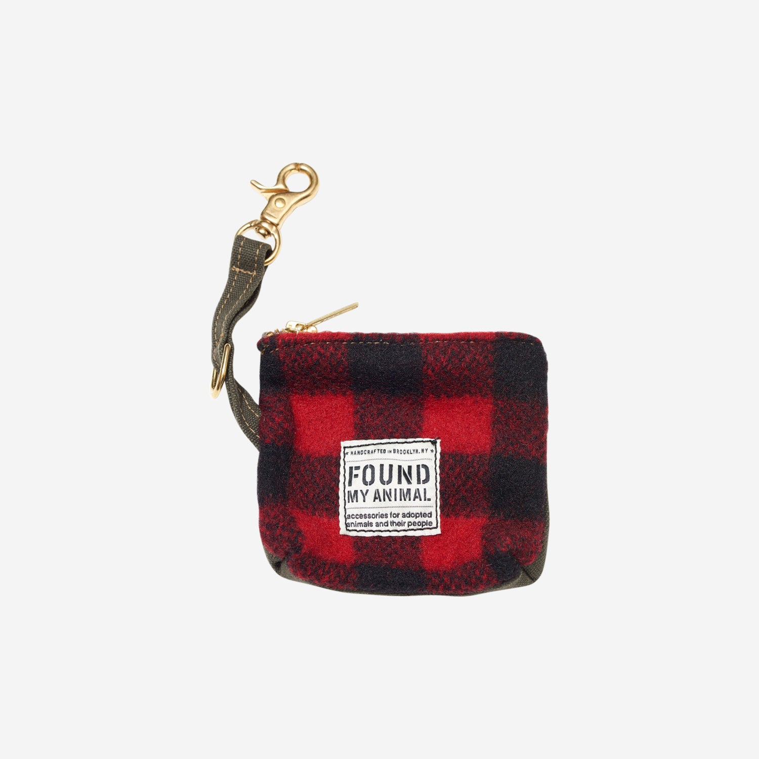 Buffalo Plaid Pouch