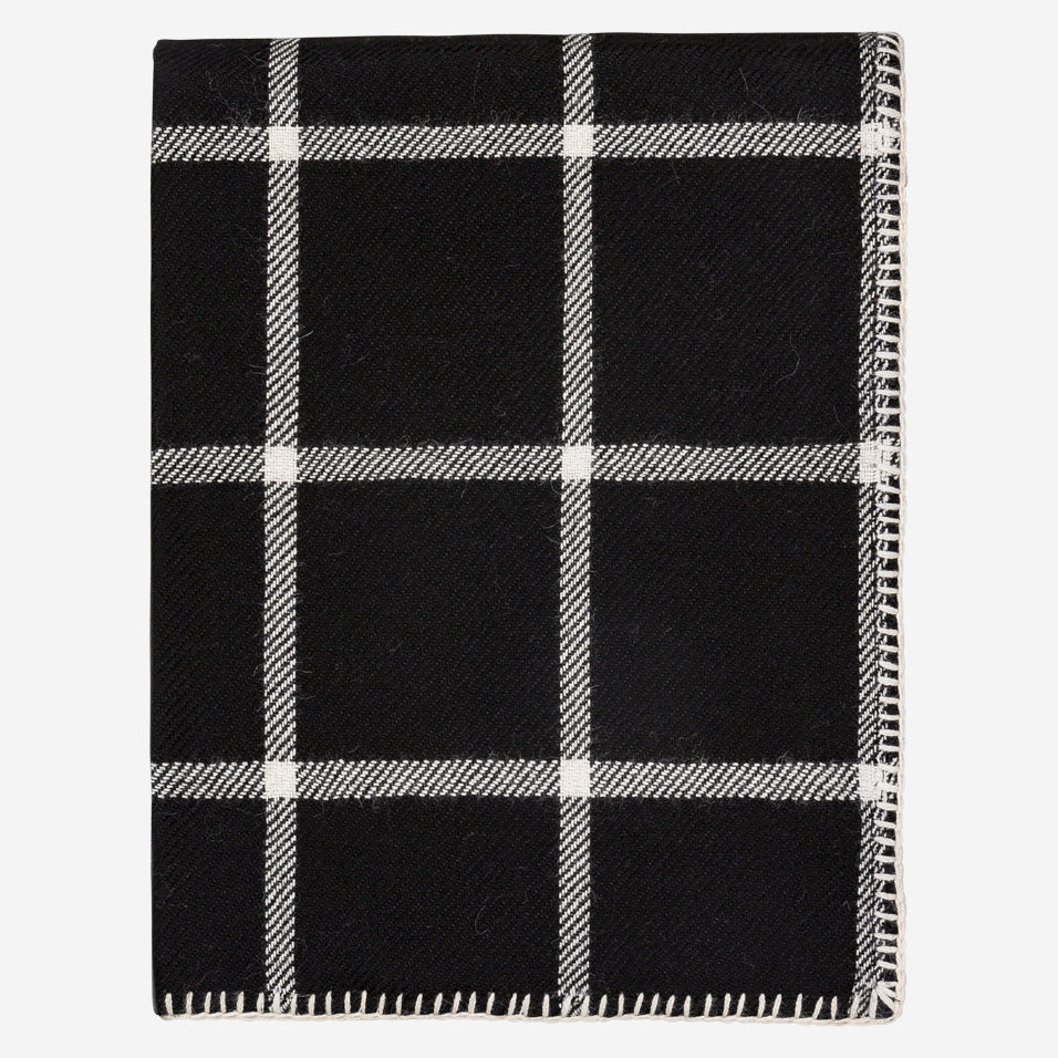 Graydon Throw Black / Ivory
