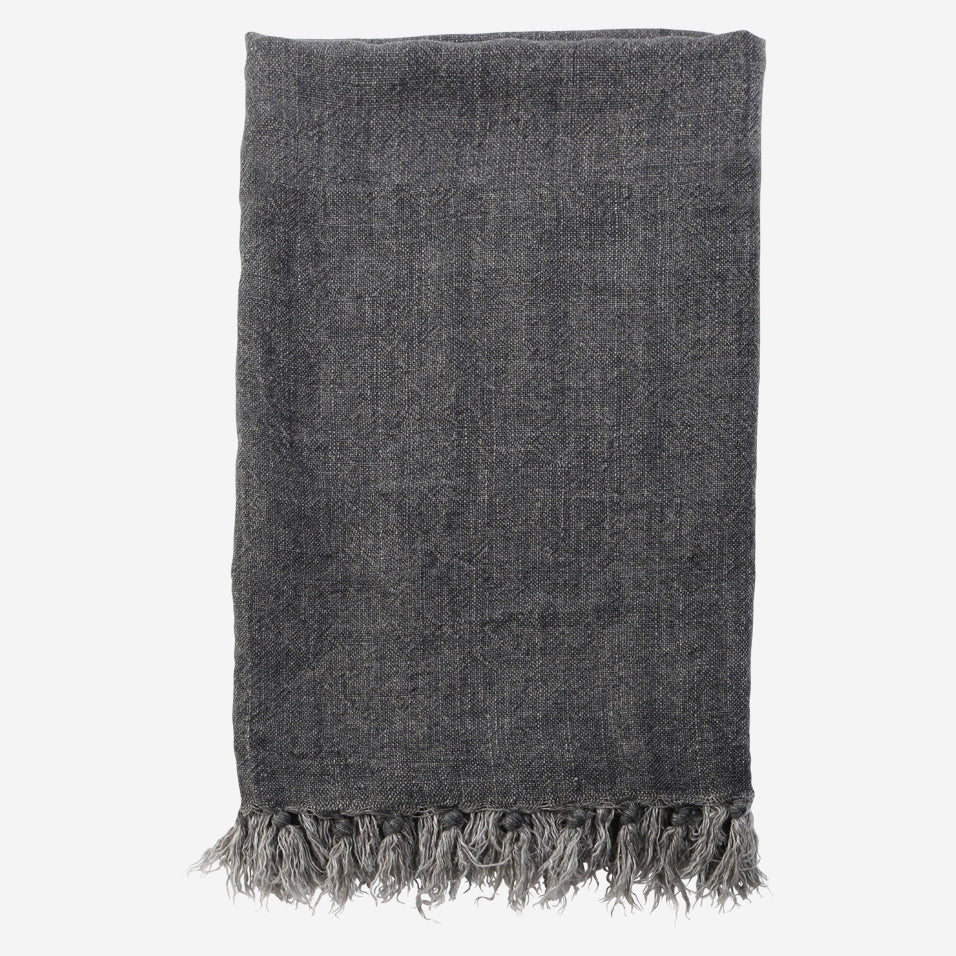 Montauk Throw Charcoal