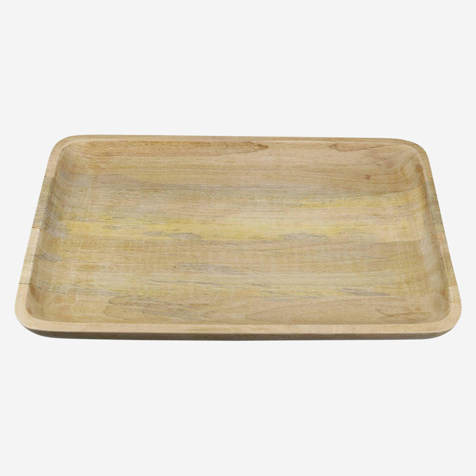 Wood Rectangular Extra Large Tray