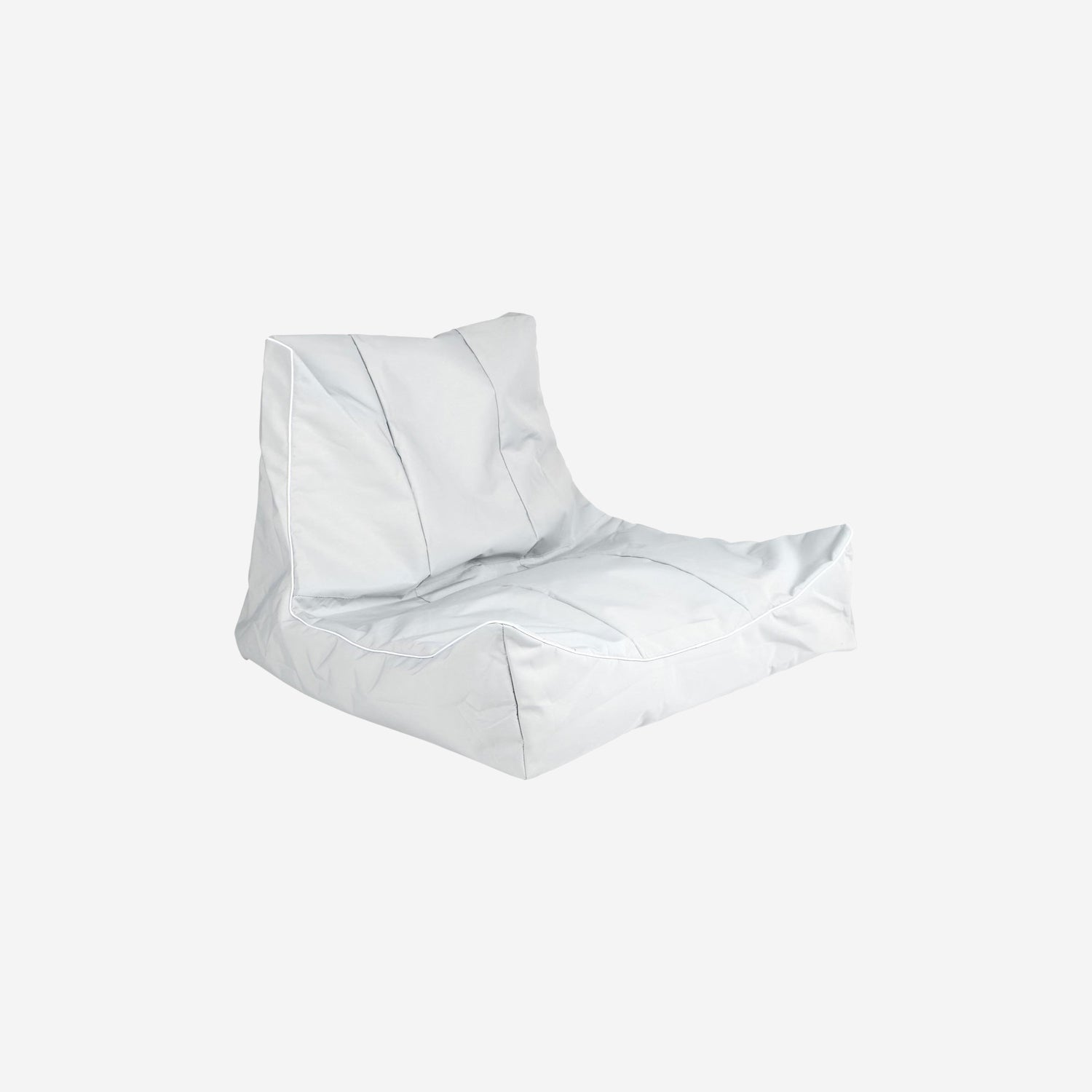 Grey Sit-On Floating Bean Bag