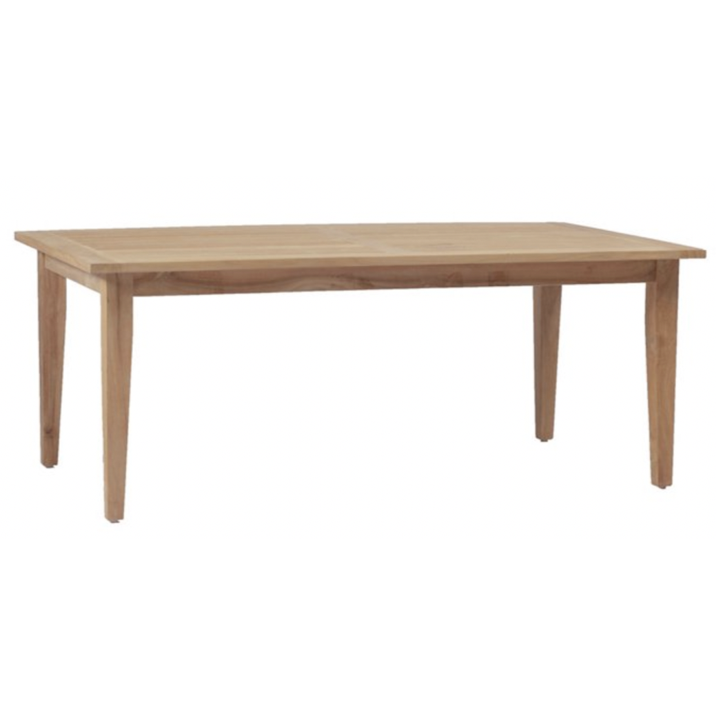 Croquet Teak Farm Table