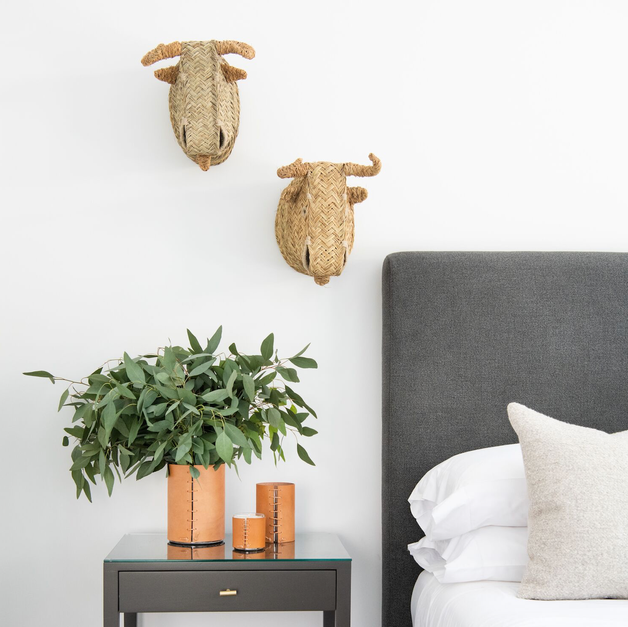 Handmade Natural Bull Heads