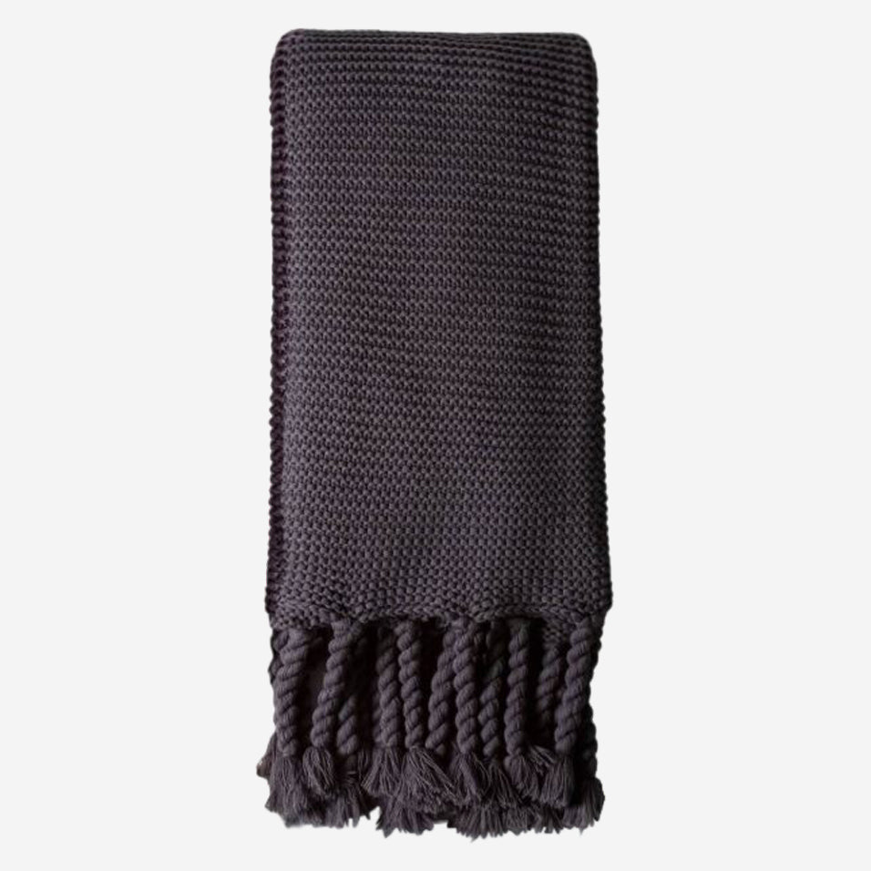 Trestles Oversized Throw Midnight