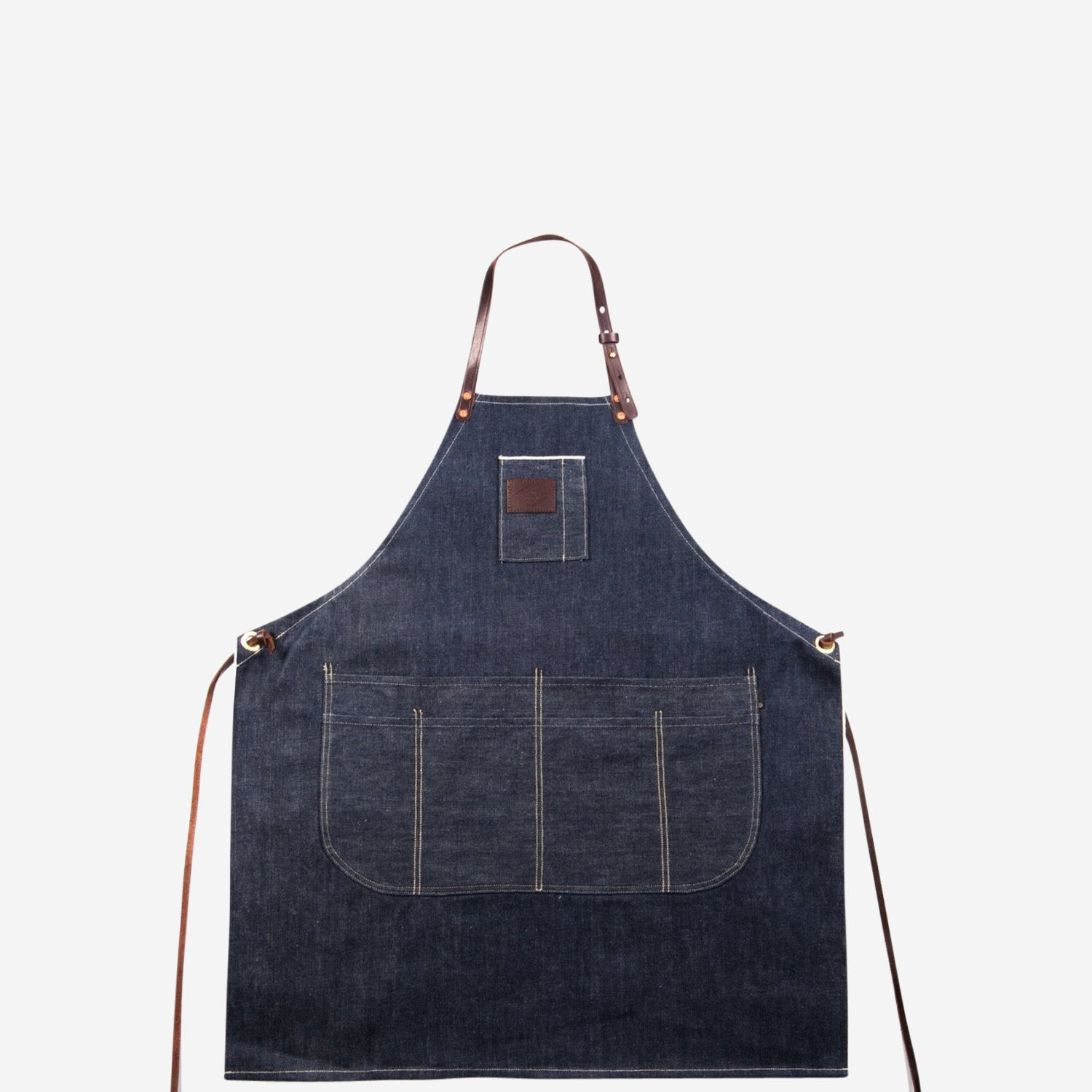 AP-1 Selvedge Denim & Leather Apron