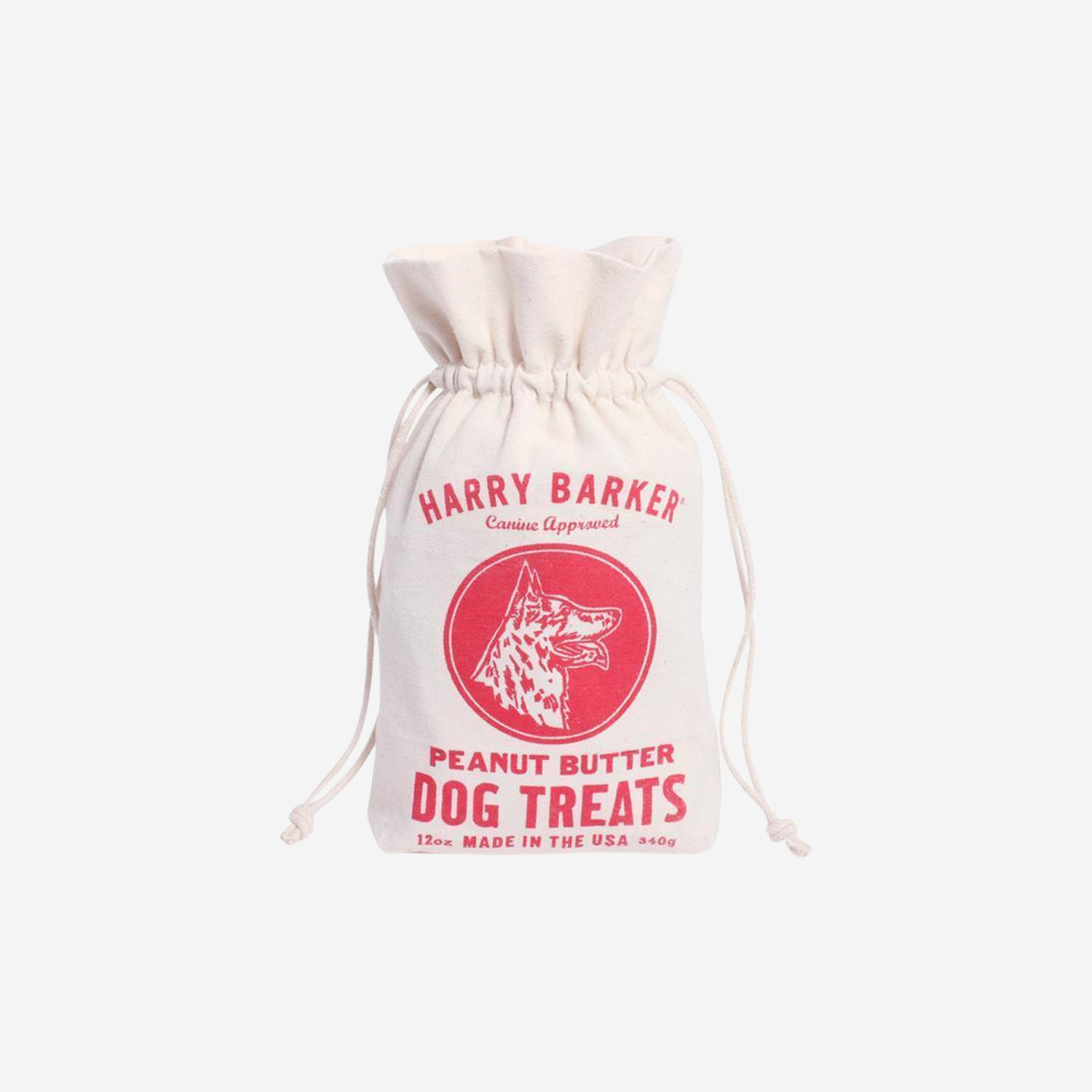 Peanut Butter Dog Treats Bag