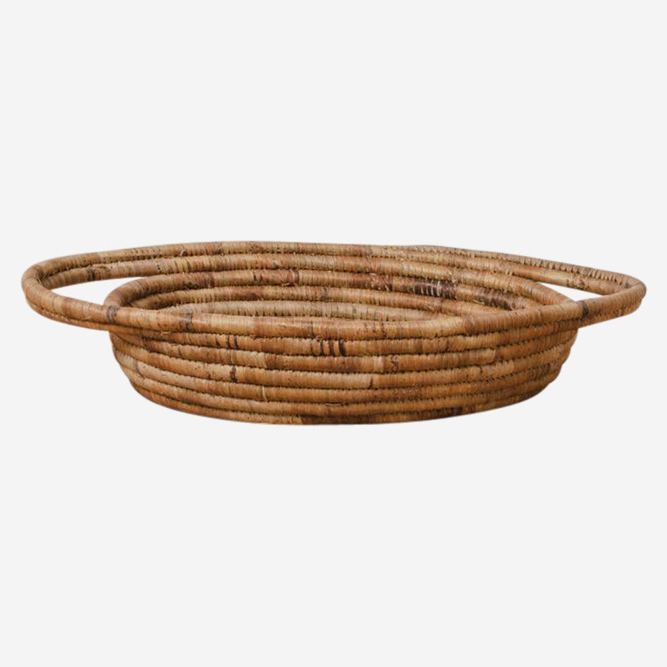 Banana Bark Oval Basket