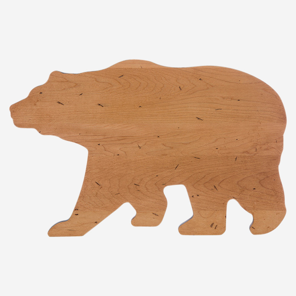 Maple Bear Shaped Board