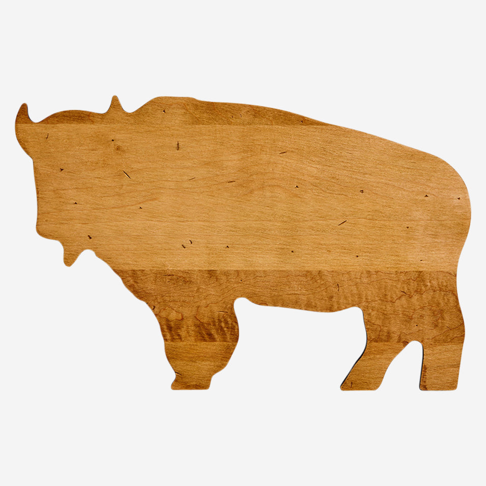 Maple Bison Shaped Board