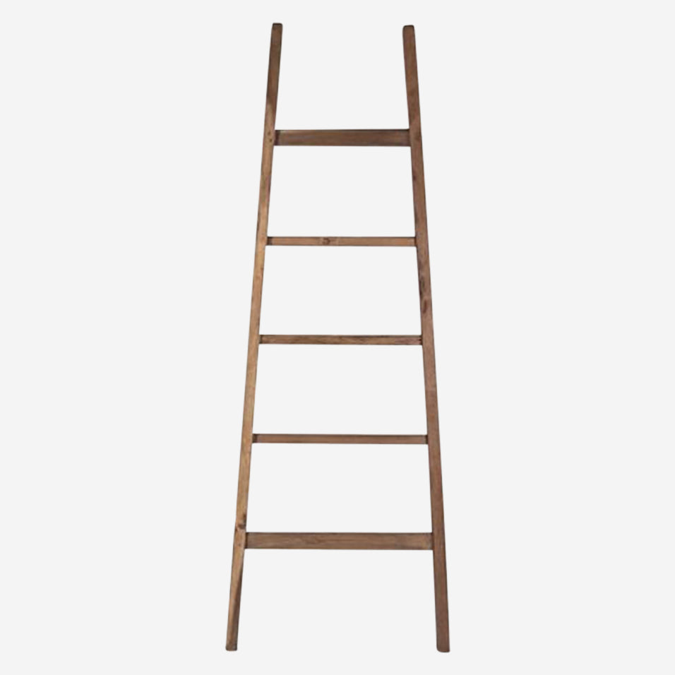 Teak Display Ladder