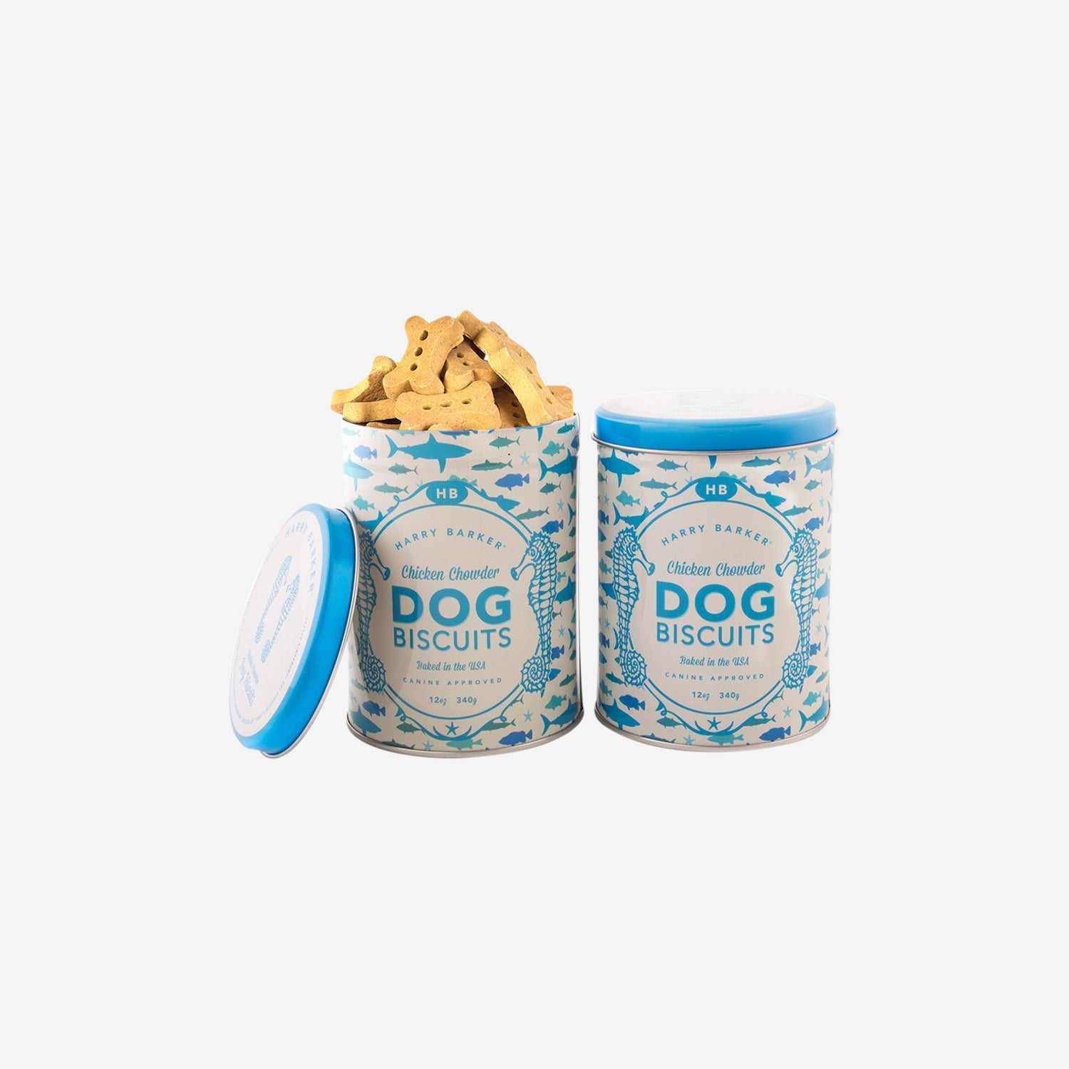 Coastal Tin with Chicken Chowder Dog Treats