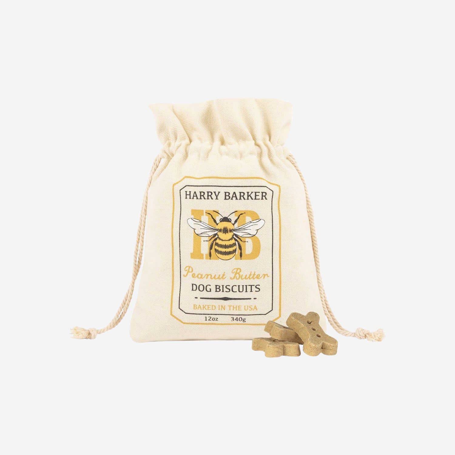 Honey Bee Dog Treats Bag
