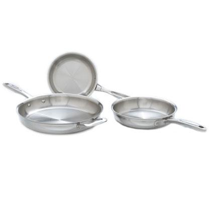 Stainless Steel Fry Pan Set