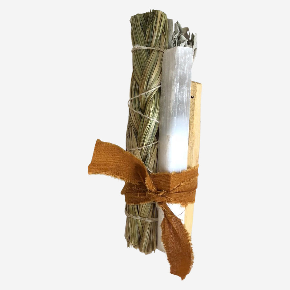 Sweet Grass Sage Smudge Stick