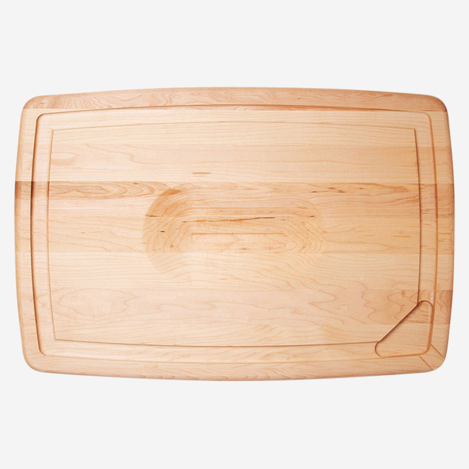 Maple Pour Spout Carving Board