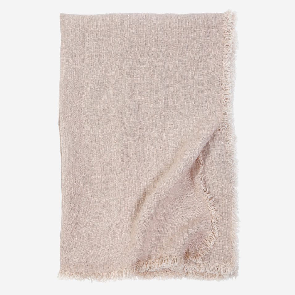 Laurel Throw Blush