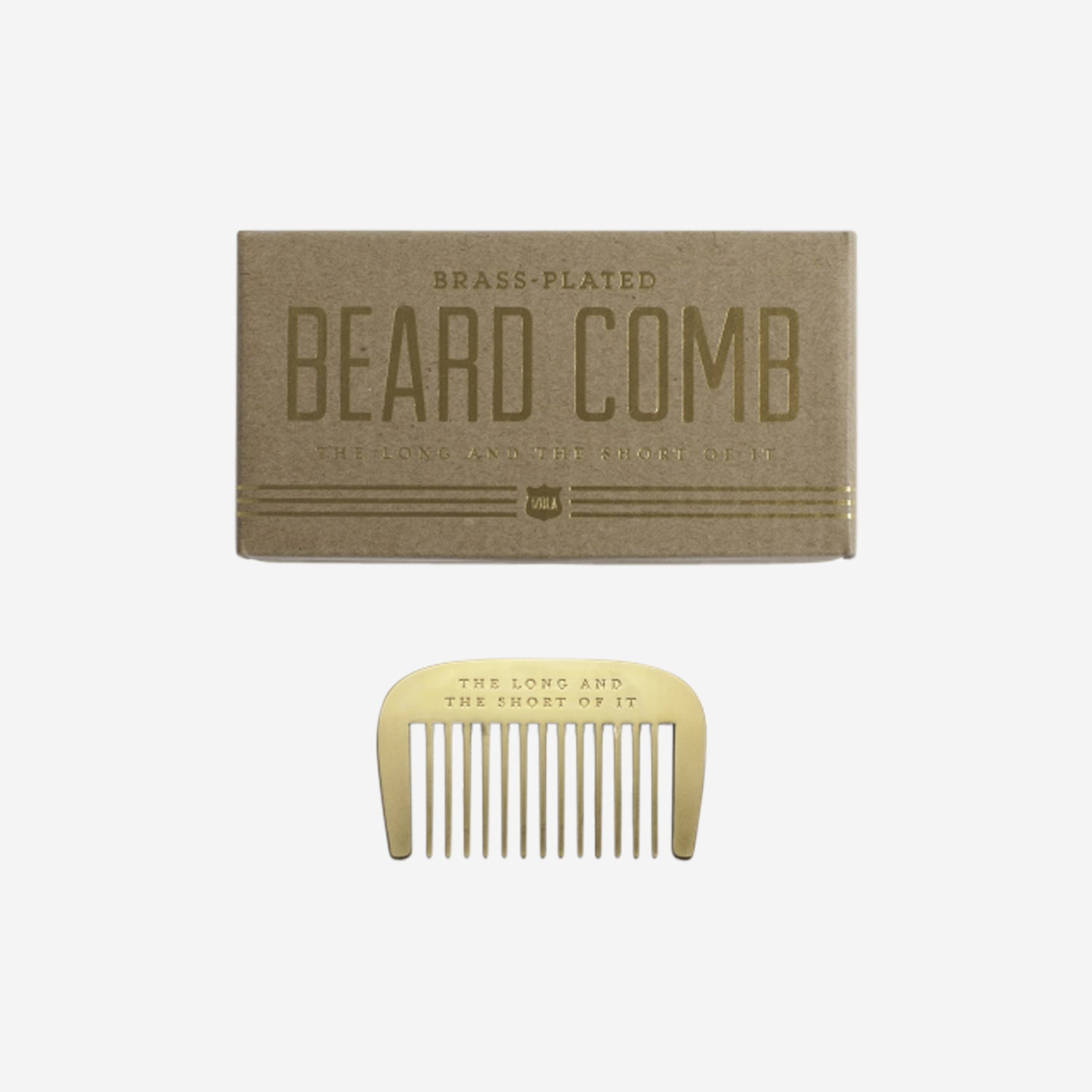 The Long & Short of it Beard Comb
