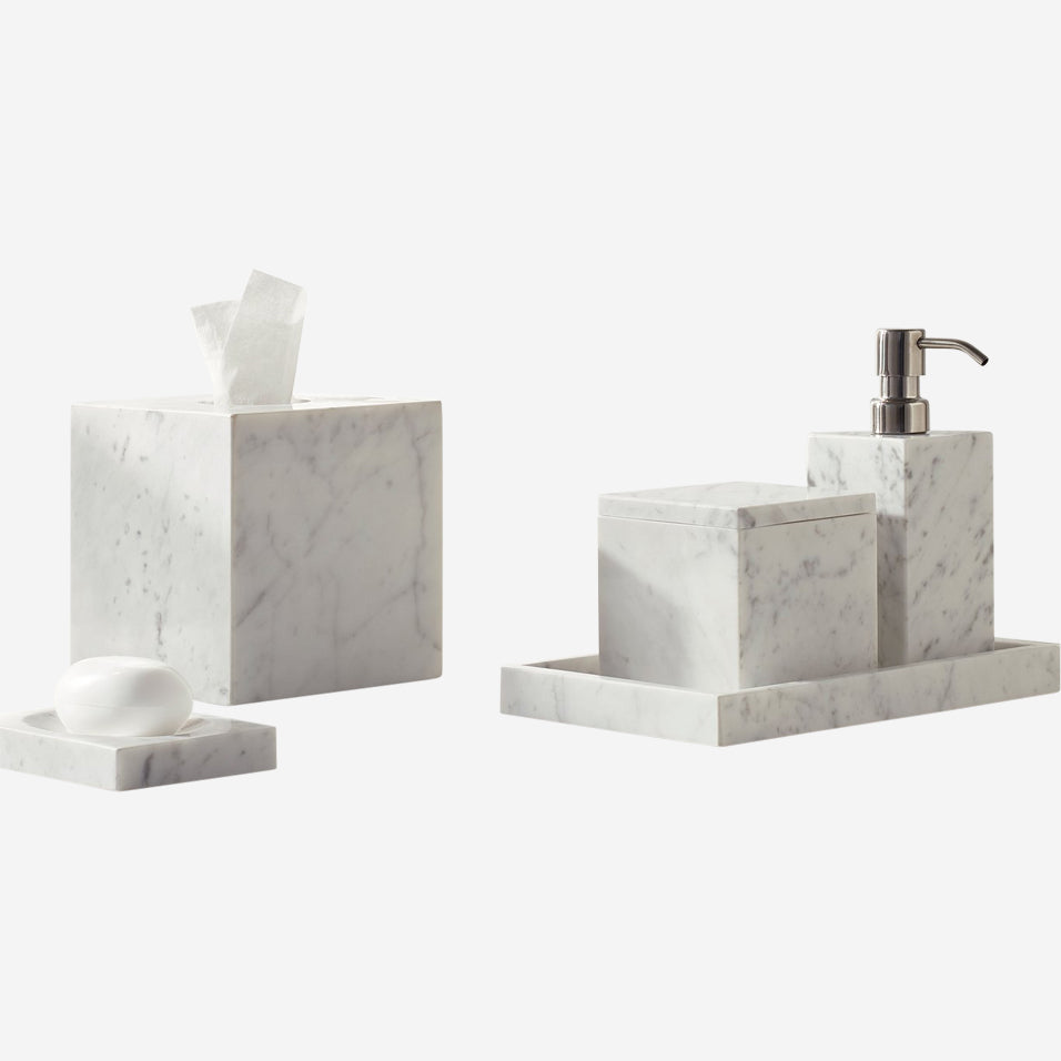 Marmol Bathroom Accessory Set