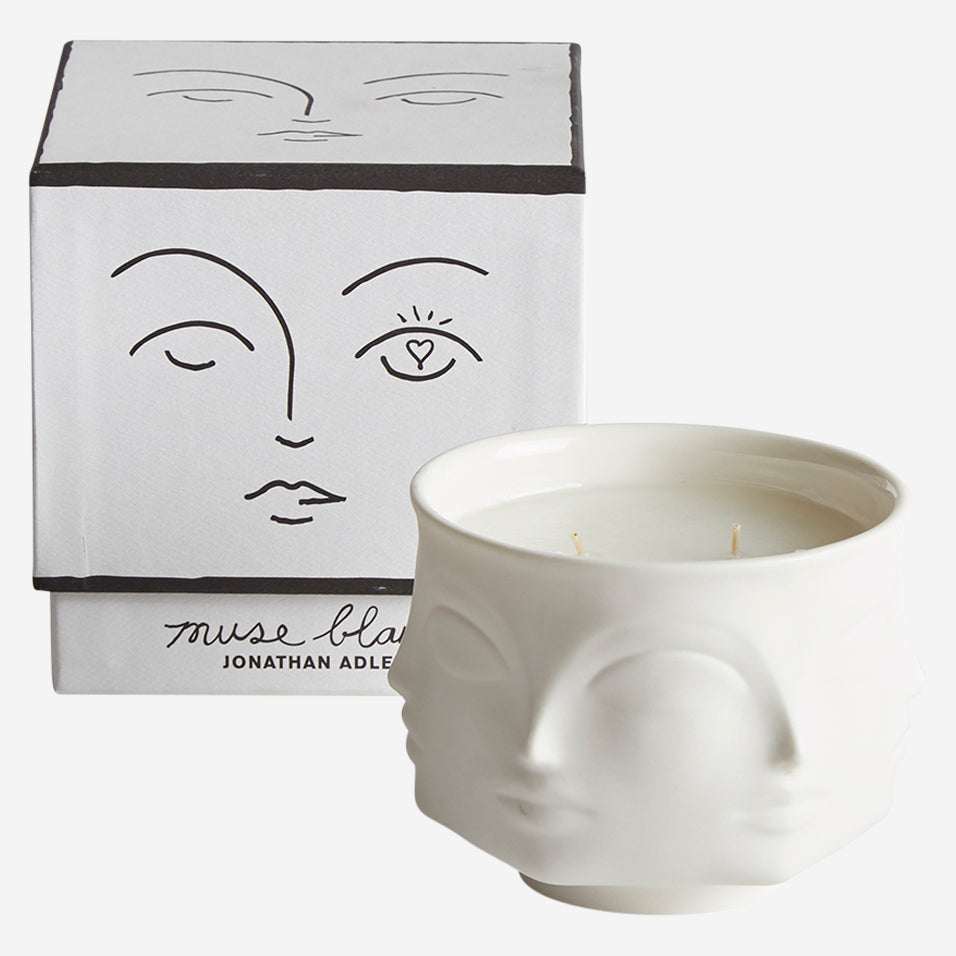 Muse Candle Blanc