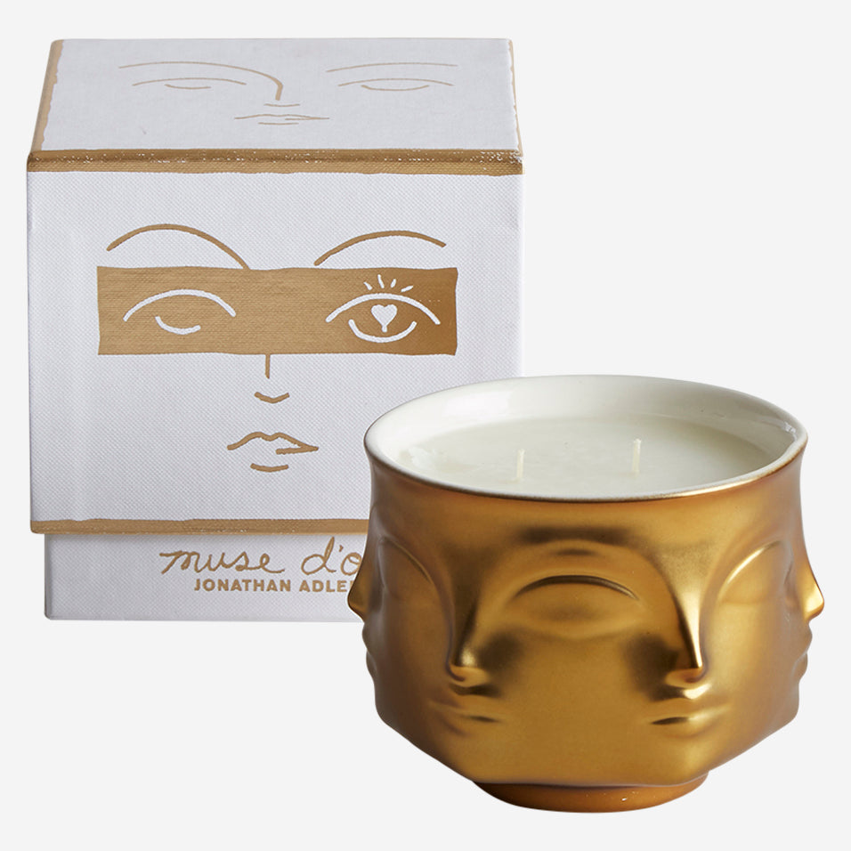 Muse Candle Brass