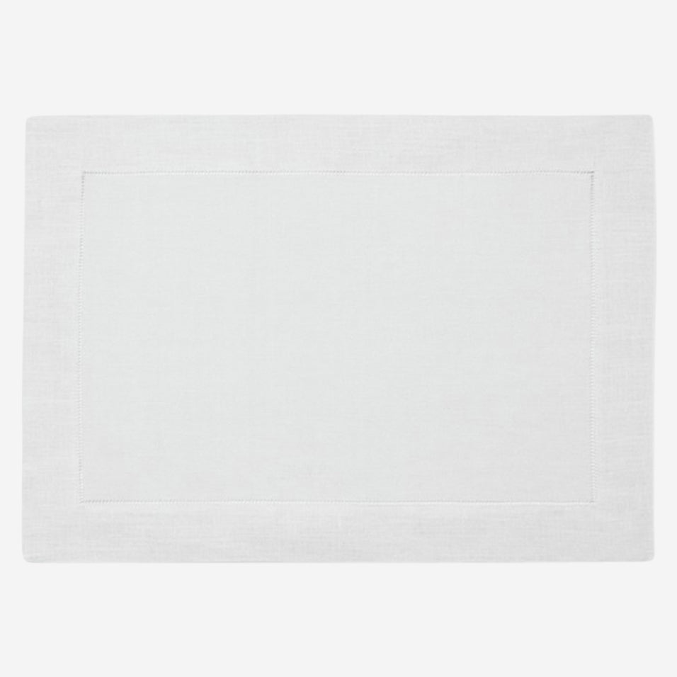 White Festival Placemats