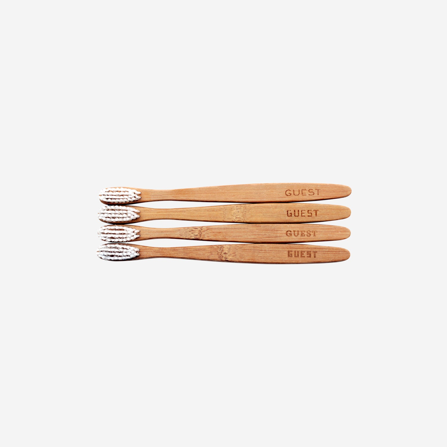 Guest Bamboo Toothbrush Set of 4