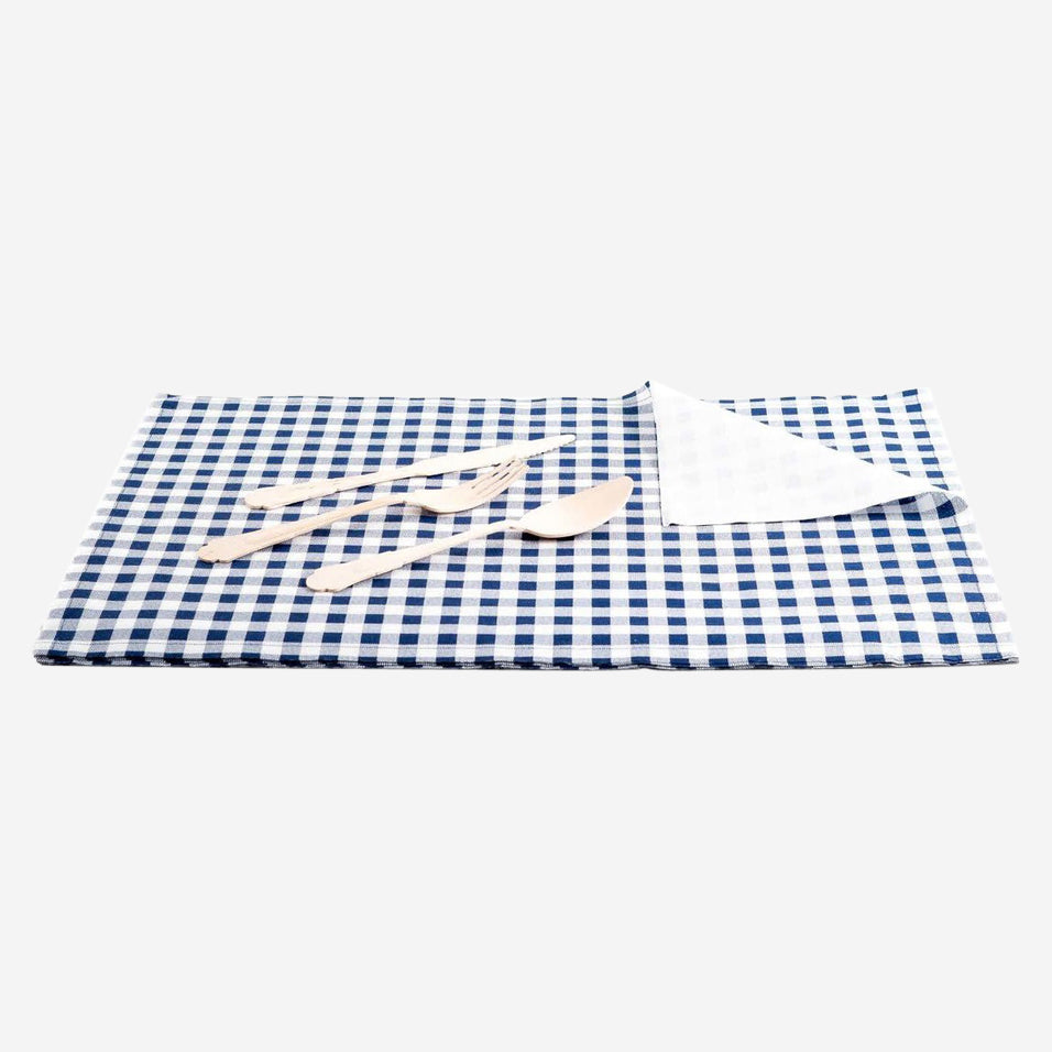 Blue Vichy Placemats