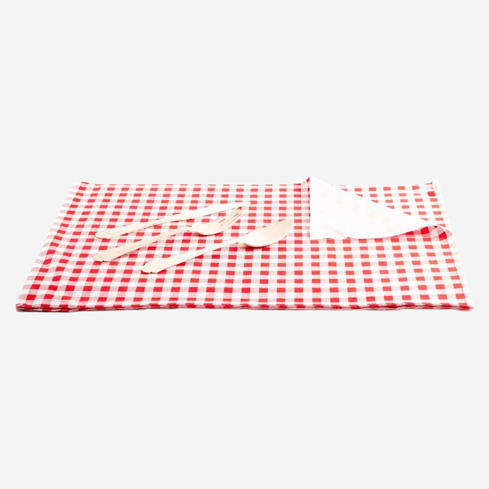 Red Vichy Placemats
