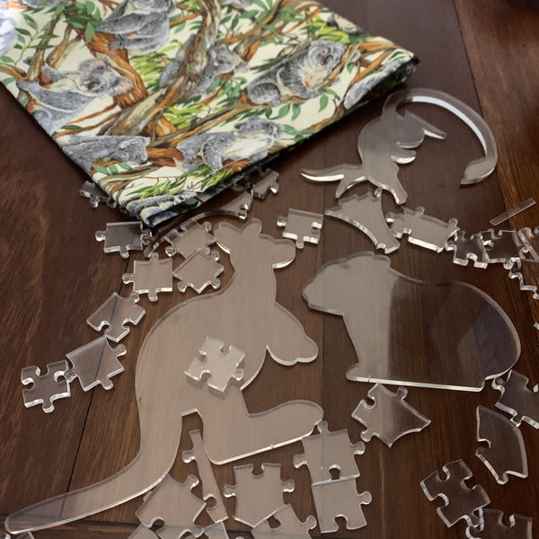 Aussie Animals Clear Puzzle