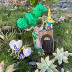 Hand crafted Fairy house 16cm  tall