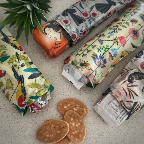 Biscuit pouches Collections  33cm by 13cm