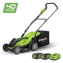 Load image into Gallery viewer, GreenWorks 40V Cordless Lawnmower