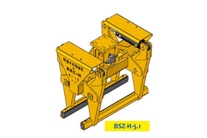 BSZ-H 5,100kg Hydraulic Concrete Highway Divider Clamp