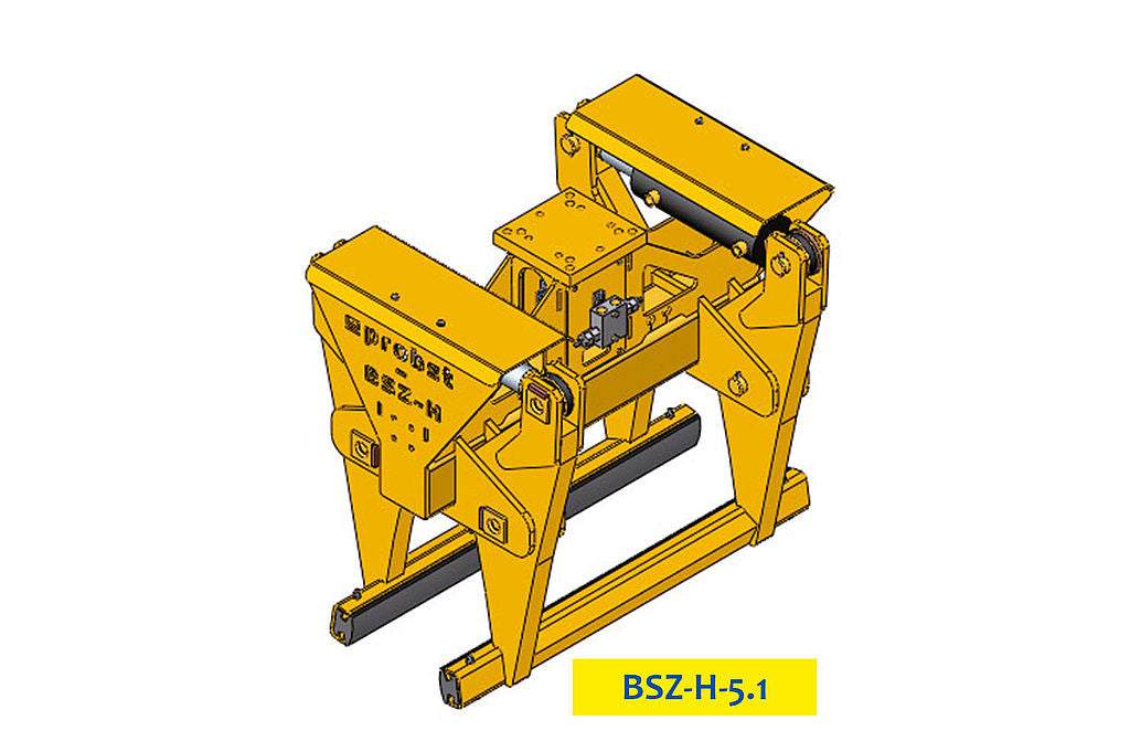 BSZ-H 2000kg Hydraulic Concrete Highway Divider Clamp