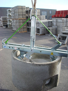 SVZ-ECO Manhole and Cone Installation Clamp Hire