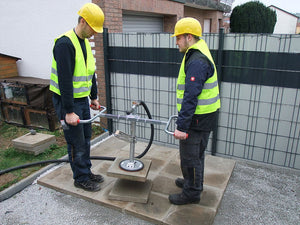 Two Man Handle for MIKROJUMBO-JET Vacuum Slab Layer
