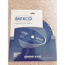 "Load image into Gallery viewer, Mexco 12"" diamond blade Gpx10 (5 x blades) Special Offer"