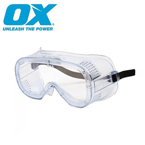 OX Direct Vent Saftey Goggles