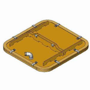 SH/PowerJet SPS-1500 Suction Plate