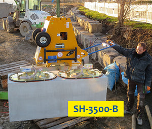SH/PowerJet SPS-1200 Suction Plate
