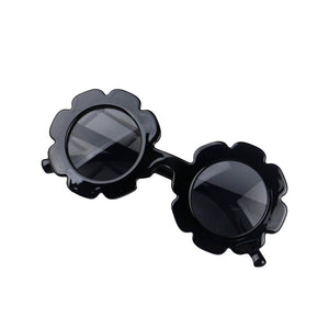Flower Power Sunglasses - Black