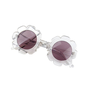 Flower Power Sunglasses - Clear