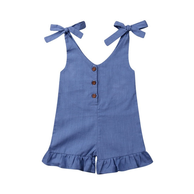 Summer Days Jumpsuit - Blue