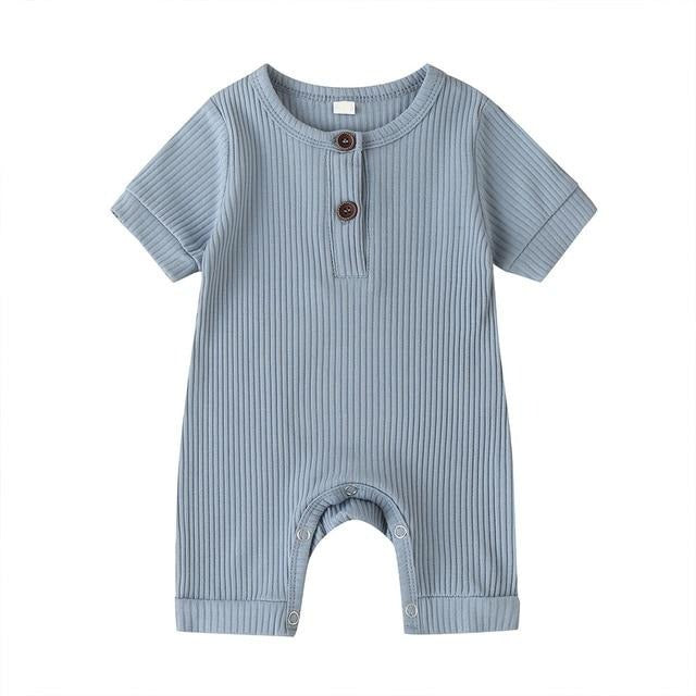 Basic Short Onesie - Blue
