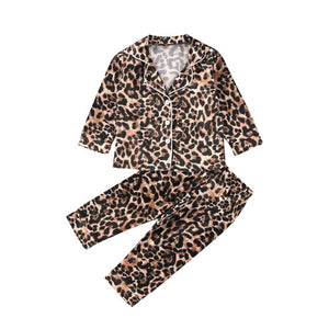 Leopard PJ Set - Long