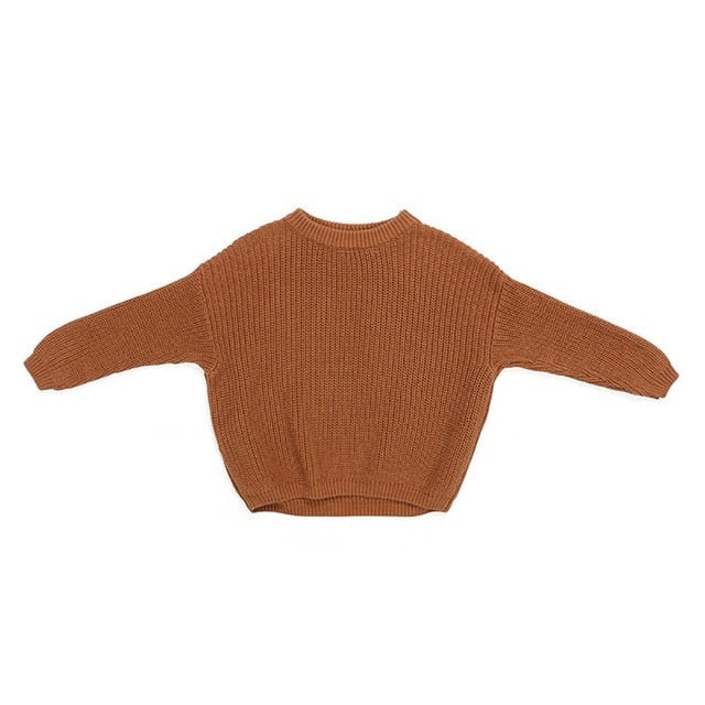 Knit Pullover - Rust