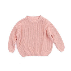 Knit Pullover - Blush